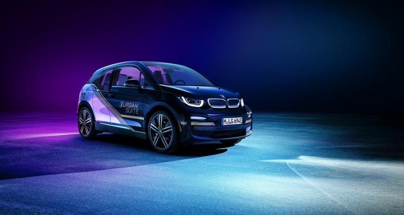 BMW i3 Urban Suite : un salon roulant pour le CES de Las Vegas