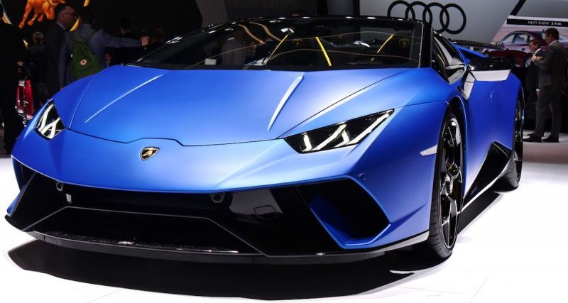 Le youtubeur GMK en Lamborghini pour livrer les cadeaux de Noël