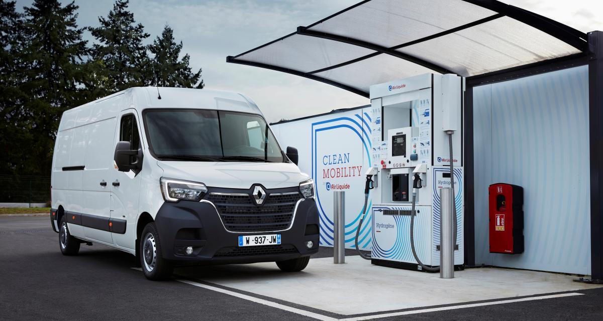 Renault Kangoo et Master Z.E. Hydrogen : les utilitaires électriques passent à l'hydrogène