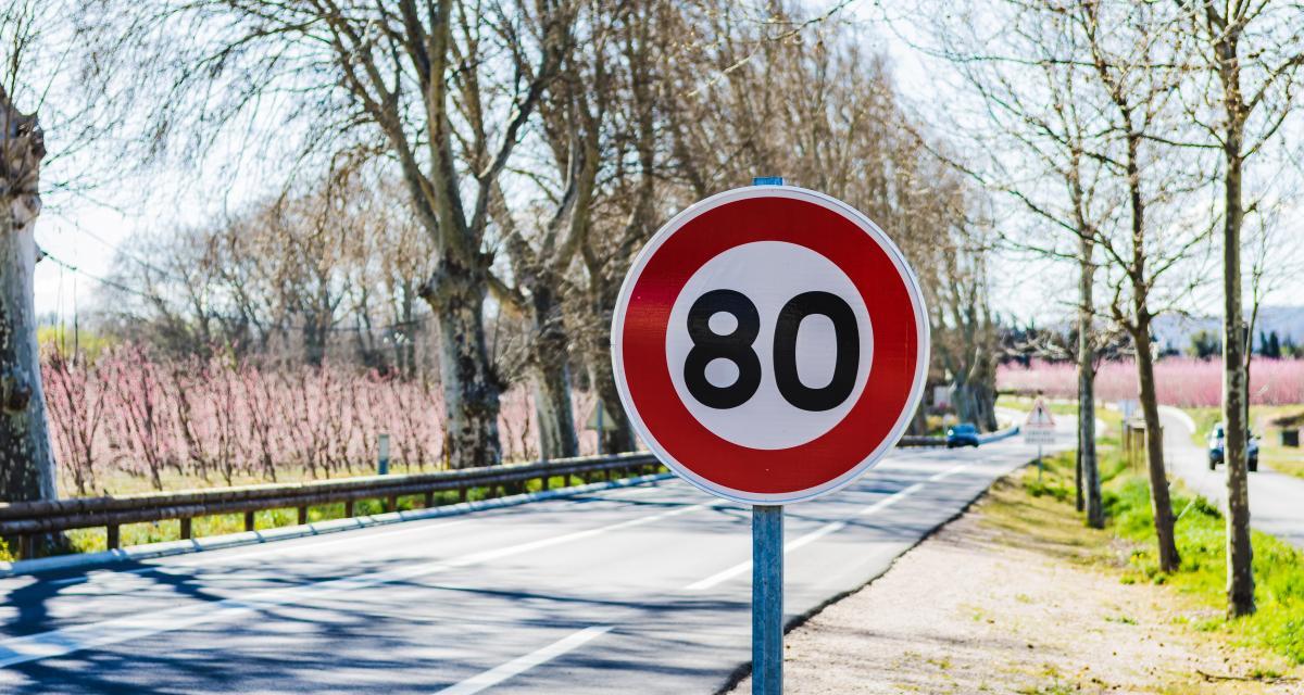 Flashé à 187 km/h sur une nationale limitée à 80