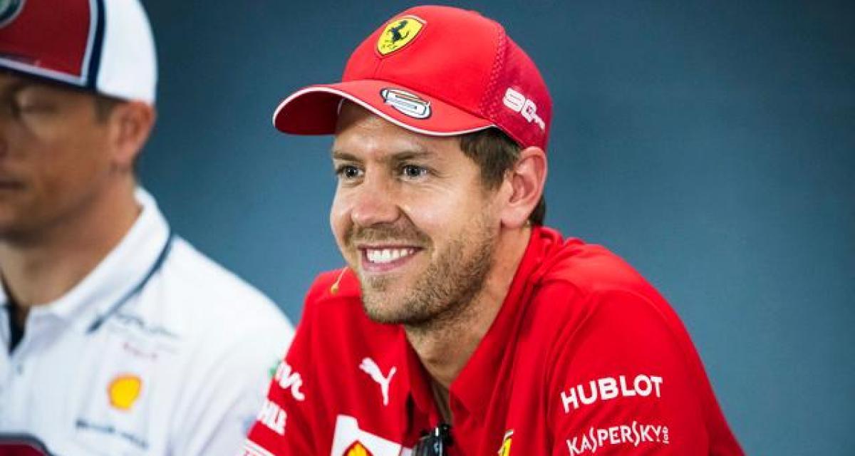 Sebastian Vettel fait un comparatif entre 2014 et 2019