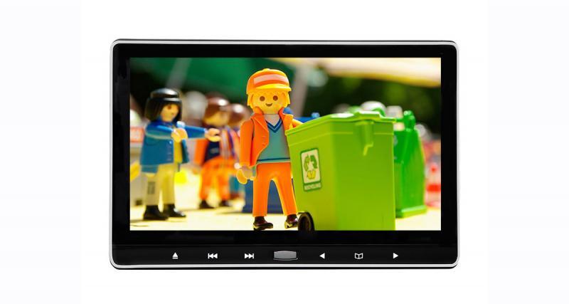 Un écran vidéo pour les passagers arrière avec un rapport prestations/prix canon chez Eonon