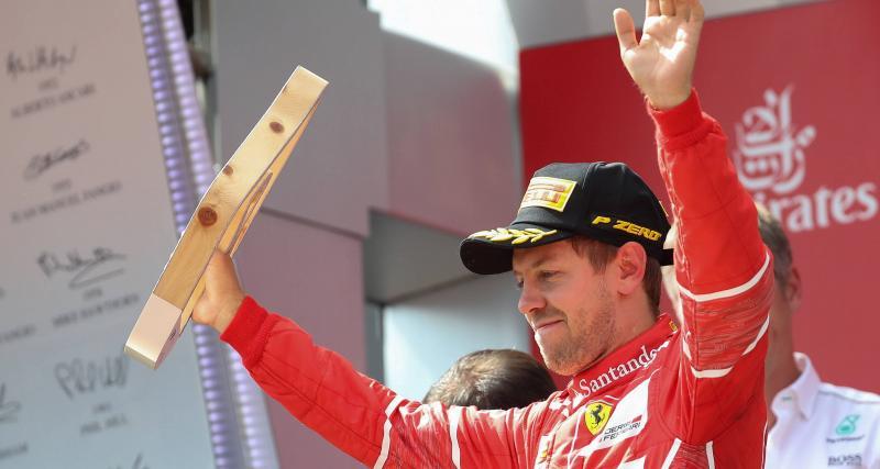 "Sebastian Vettel : ""Je veux gagner un titre avec Ferrari"""
