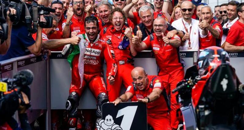 Ducati : une prolongation de contrat synonyme de chute libre pour Petrucci