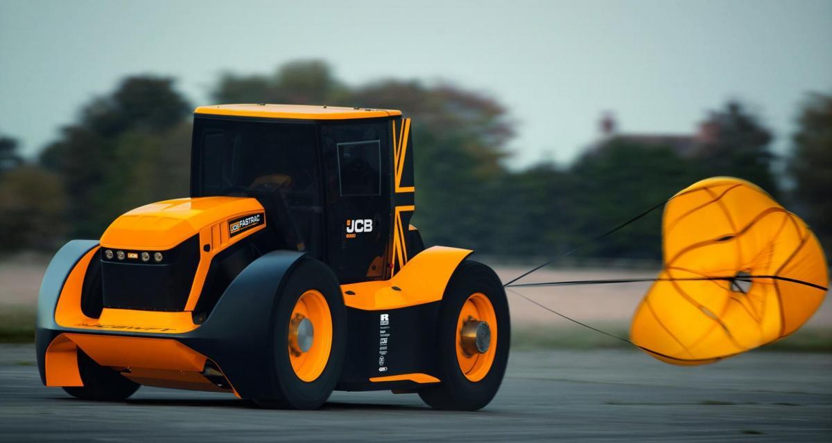 Record de vitesse : 247,47 km/h en tracteur !