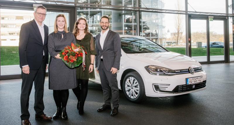 Volkswagen : 250 000 véhicules électrifiés livrés