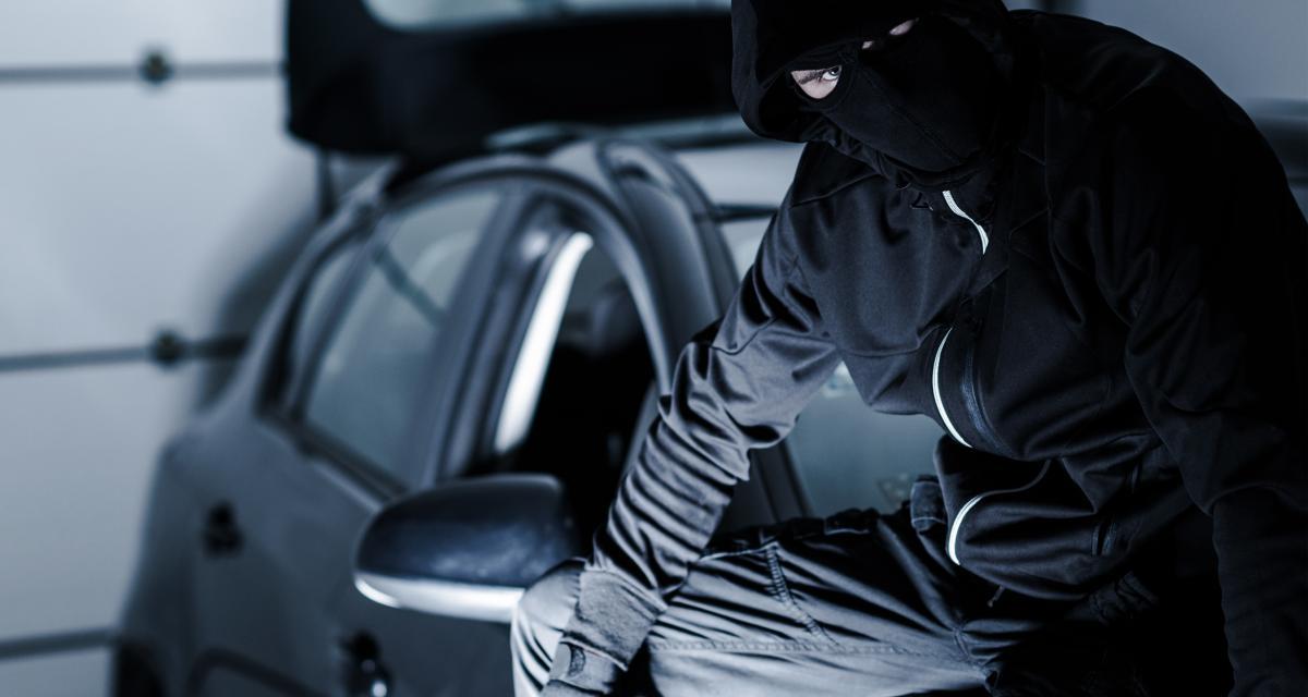Voitures volées en France : 1 véhicule toutes les 5 minutes