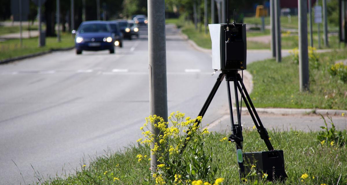 Excès de vitesse : un automobiliste flashé à 180 km/h