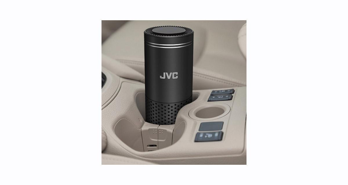 Parmi les nouveautés du CES, JVC présentait un purificateur d'air pour l'habitacle