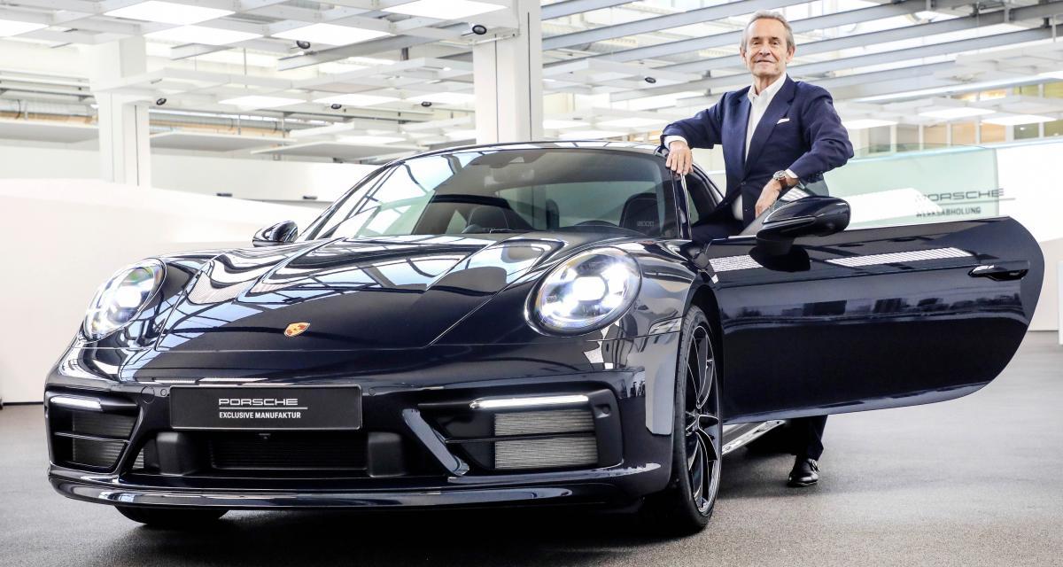 Porsche 911 Belgian Legend : hommage au pilote Jacky Ickx