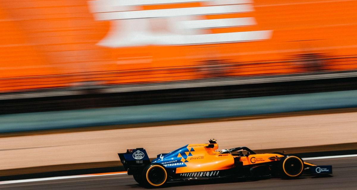 McLaren : Zac Brown satisfait de Norris et Sainz