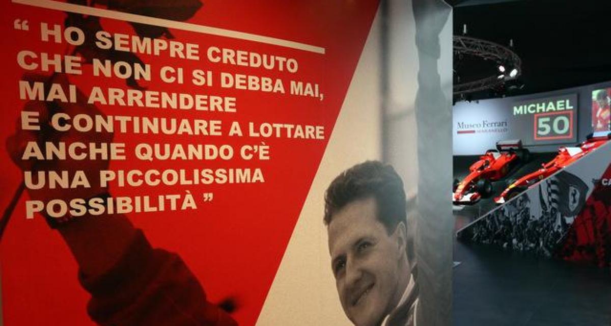 Ferrari célèbre les 51 ans de Michael Schumacher