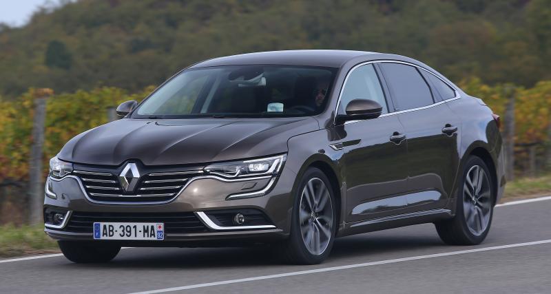 Renault Talisman restylée (Sortie au printemps 2020)