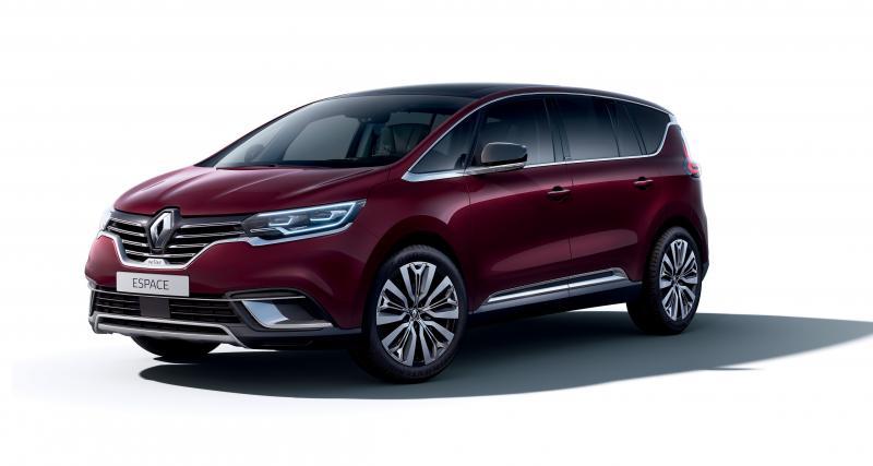 Renault Espace restylé (Dévoilé en 2019, commercialisé en début d'année)