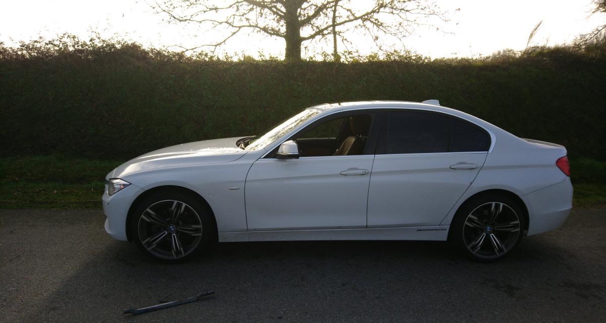 Flashé à 217 km/h au volant de sa BMW Série 3 sur une départementale
