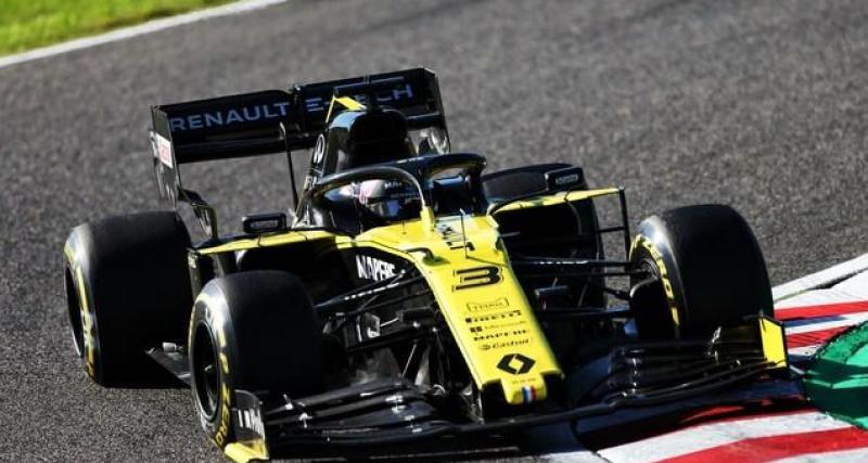 Ricciardo veut réussir avec Renault