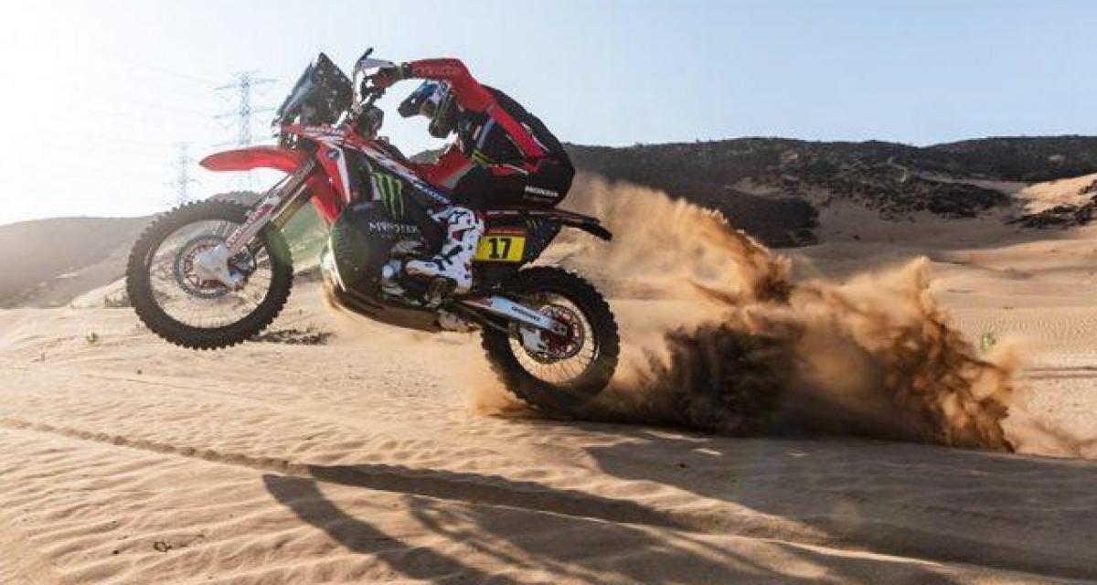Dakar 2020 - Moto : Branch remporte la 2ème étape, Sunderland nouveau leader du général