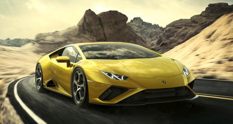 Lamborghini Huracan EVO RWD : un V10 de 610 chevaux pour les roues arrière