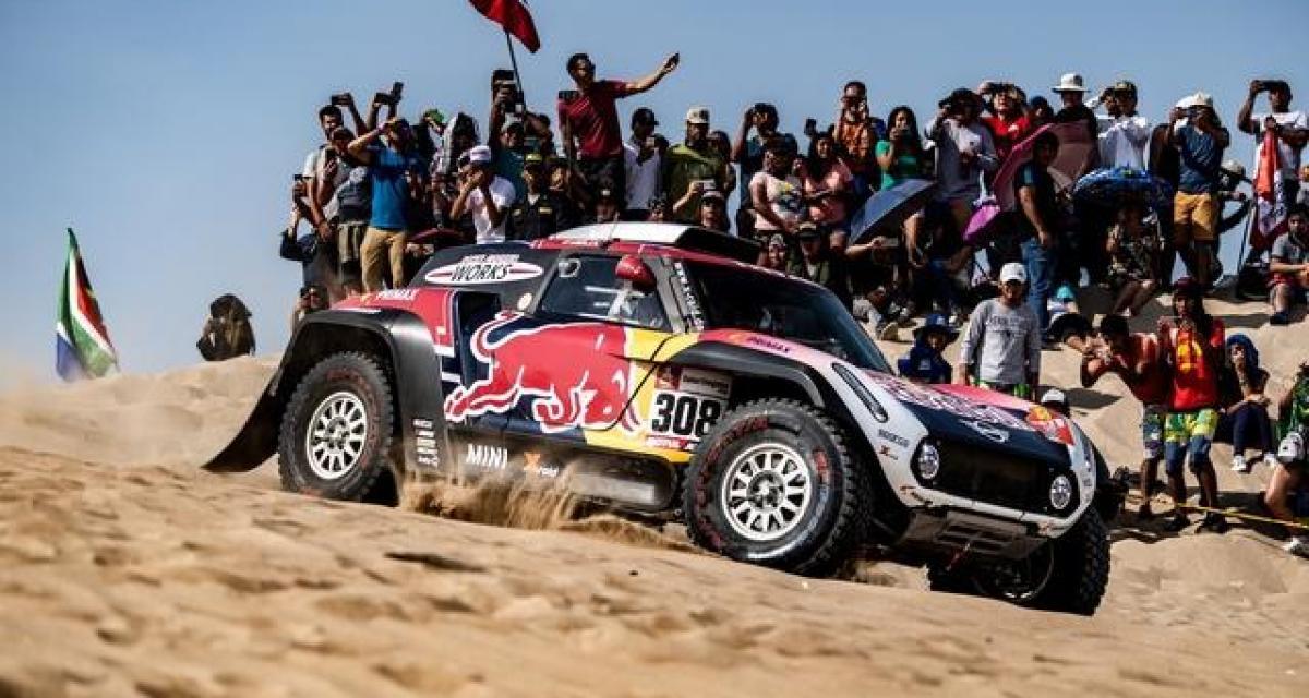 Dakar 2020 - Auto : De Villiers s'impose, Terranova nouveau leader du général