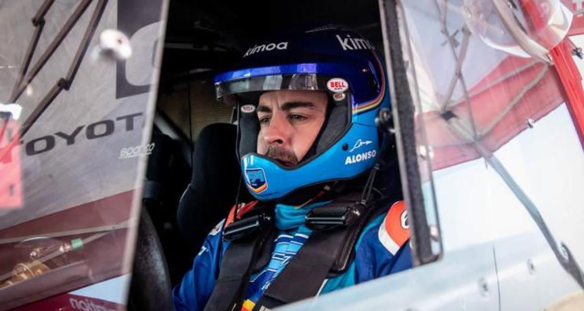 Dakar 2020 : une étape à oublier pour Alonso