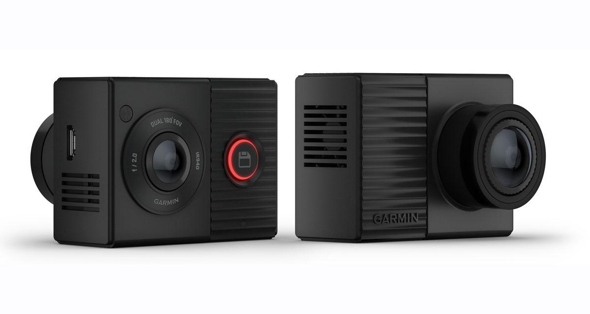 Garmin commercialise une dash cam à double objectif pour avoir une couverture vidéo complète du véhicule