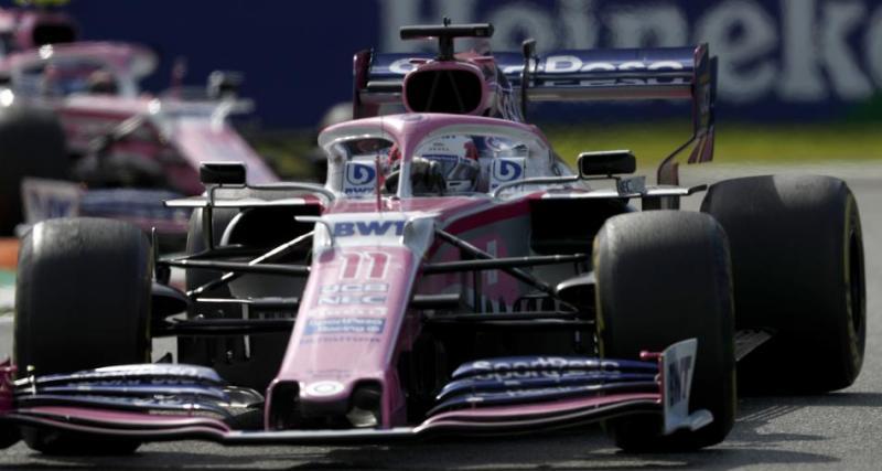 La déclaration de Sergio Pérez (publiée sur Motorsport.com)