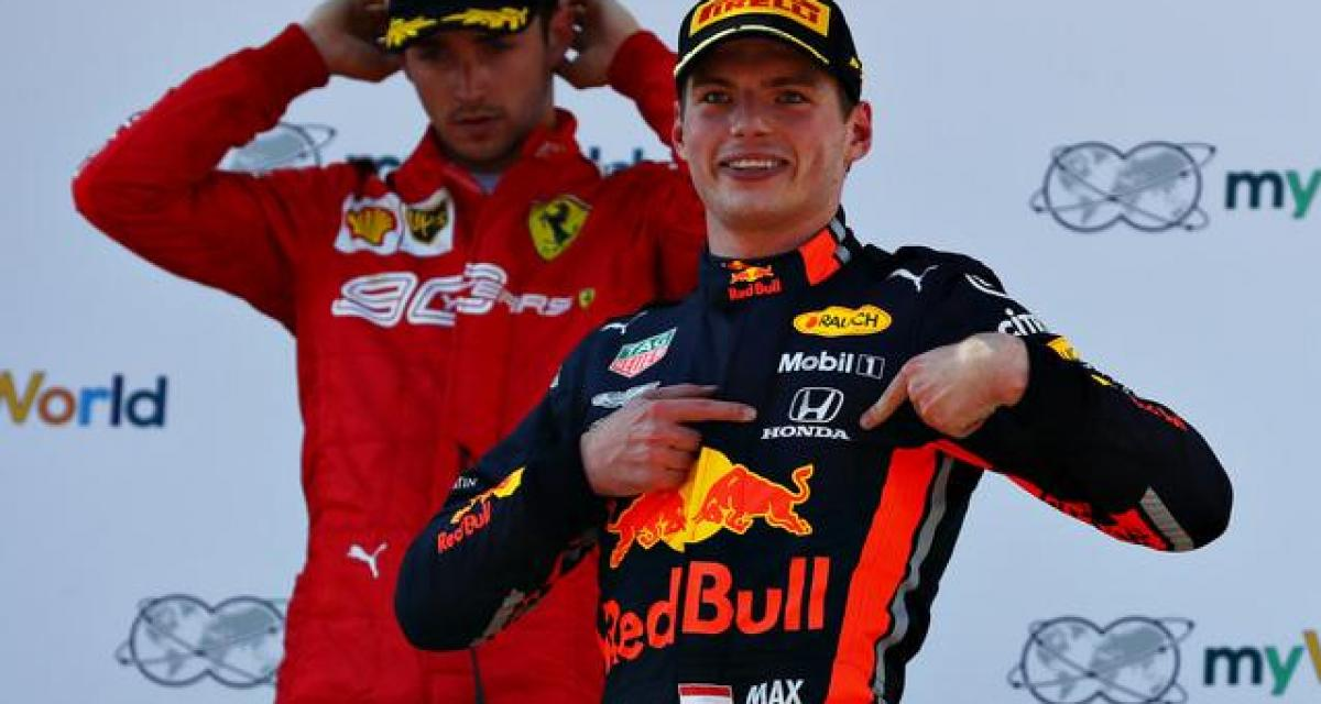F1 : Verstappen prolonge chez Red Bull jusqu'en 2023