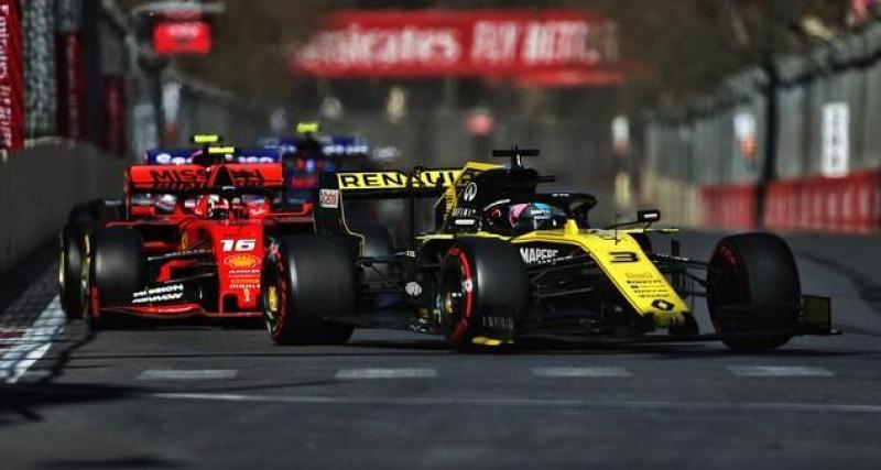 Une stabilité en F1 ?