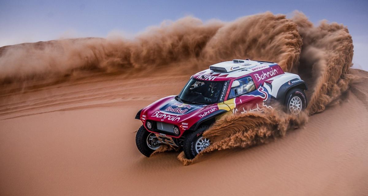 Dakar 2020 - Quatrième étape remportée par Sunderland en moto et Peterhansel en voiture