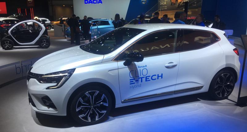 Renault Clio E-Tech : nos photos au Brussels Motor Show 2020