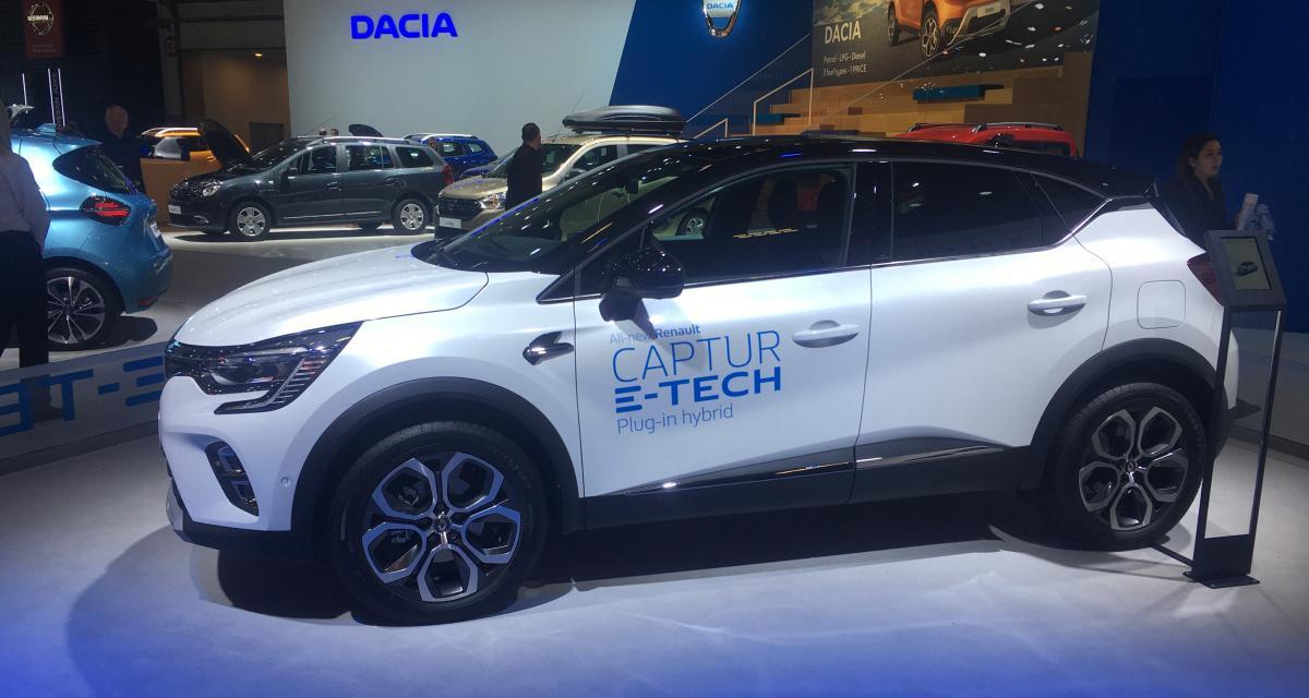 Renault Captur E-Tech : nos photos du SUV au Brussels Motor Show 2020