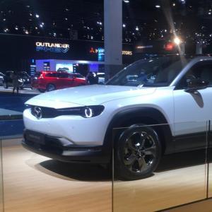 Mazda MX-30 : nos photos du SUV électrique au Salon de Bruxelles