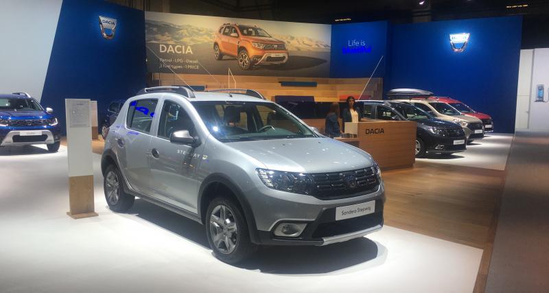 Dacia : le stand du constructeur au Brussels Motor Show en photos