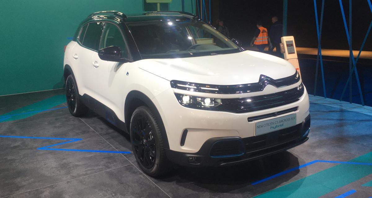 Citroën C5 Aircross Hybrid : nos photos du SUV au Salon de Bruxelles 2020