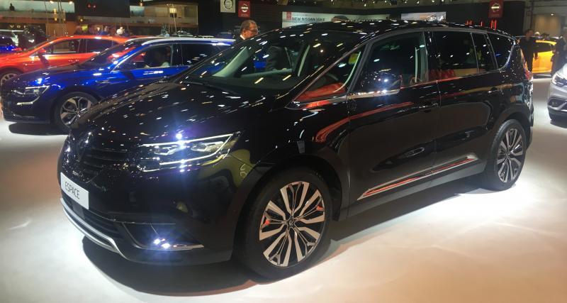 Renault Espace restylé : nos photos du monospace au Salon de Bruxelles 2020