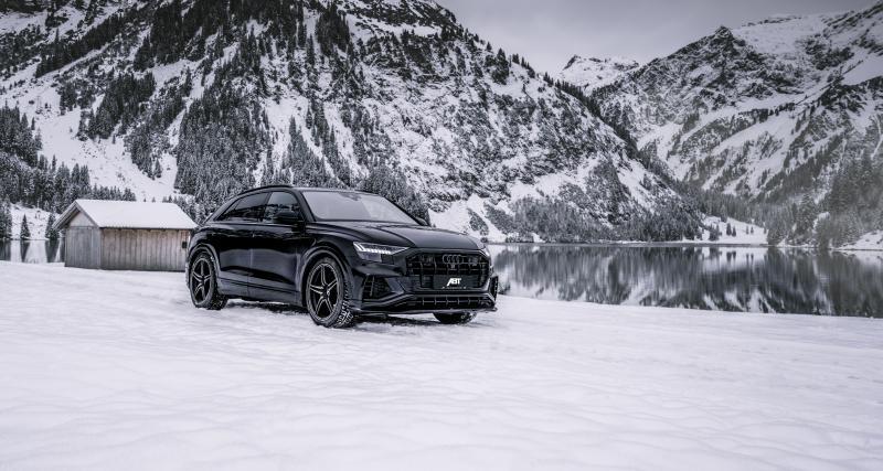 Audi SQ8 TDI par ABT : le kit carrosserie débarque sur le SUV Coupé
