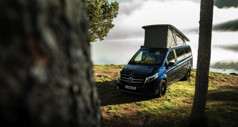Camping-car Mercedes Marco Polo MBAC : le voyageur hyper connecté