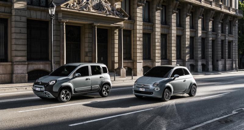 Fiat 500 et Panda Hybrid : baisse de 30 % des émissions polluantes