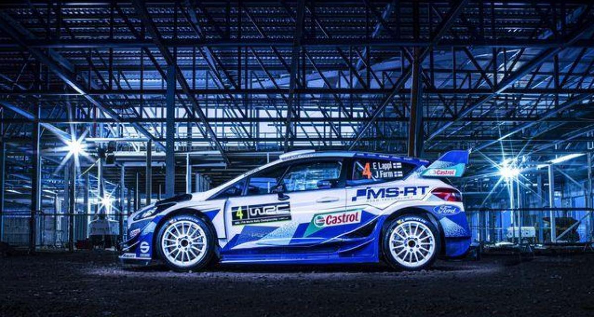 WRC - saison 2020 : la nouvelle Ford Fiesta dévoilée
