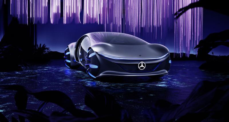 Mercedes Vision AVTR : le concept-car en 4 points