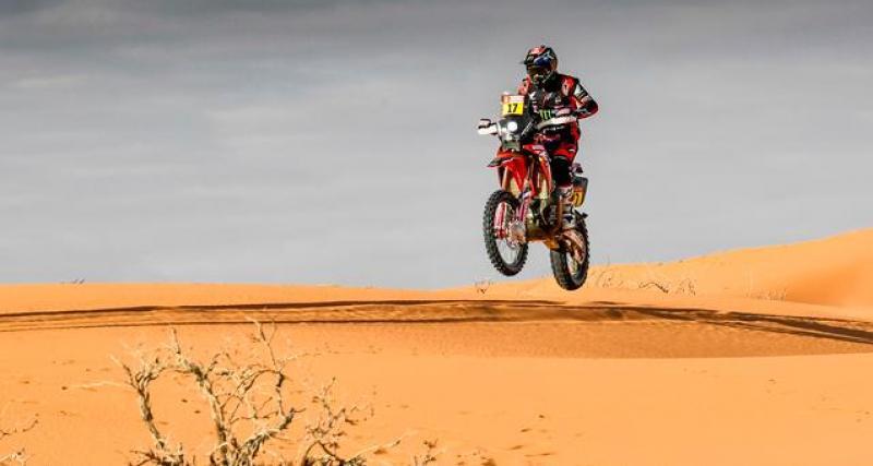 Dakar 2020 - Moto : au terme d'une journée sombre, Barreda remporte la 7ème étape
