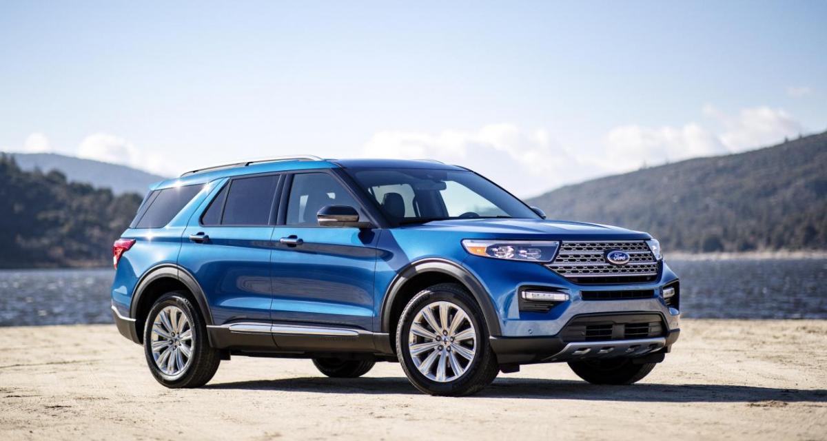 Ford Explorer Plug-in Hybrid : le prix du SUV dévoilé