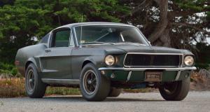 Mustang Fastback Bullitt de Steve McQueen : une icône vendue 3,7 millions de dollars aux enchères