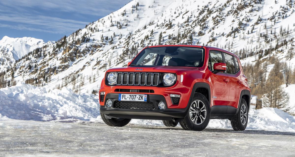 Jeep Renegade Quiksilver Winter Edition : paré pour l'hiver