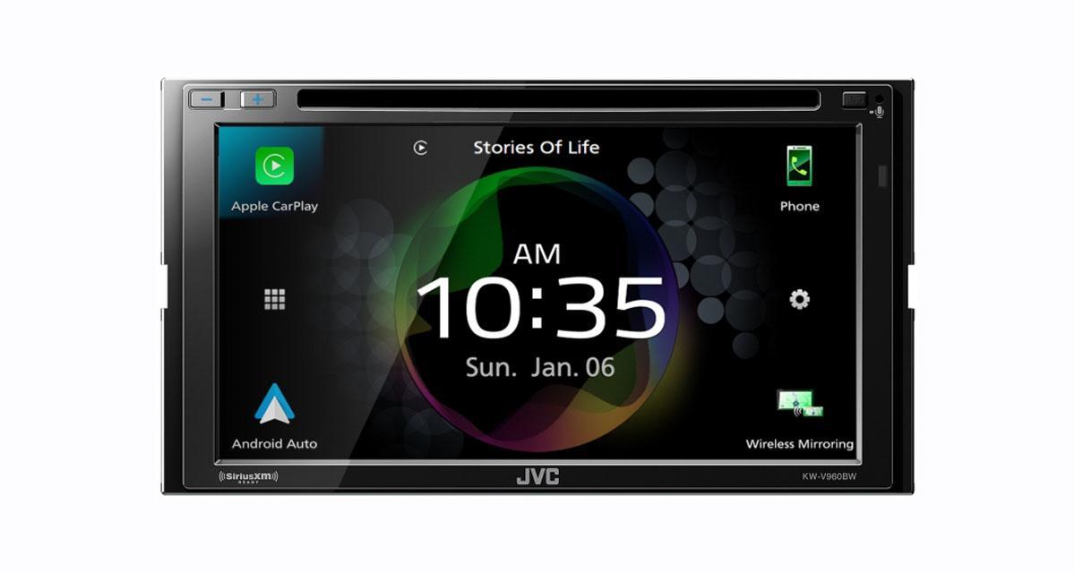 Au CES 2020, JVC dévoilait un nouvel autoradio CarPlay et Android Auto