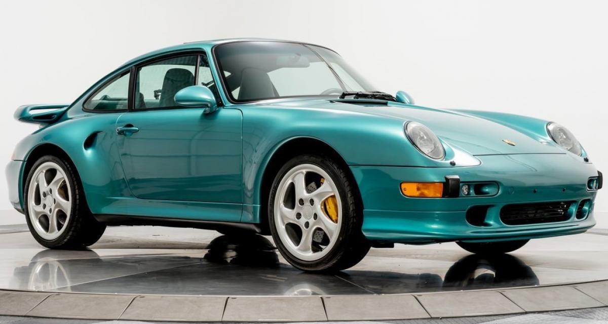Porsche 911 type 993 Turbo S : près de 900.000 dollars pour cette rareté