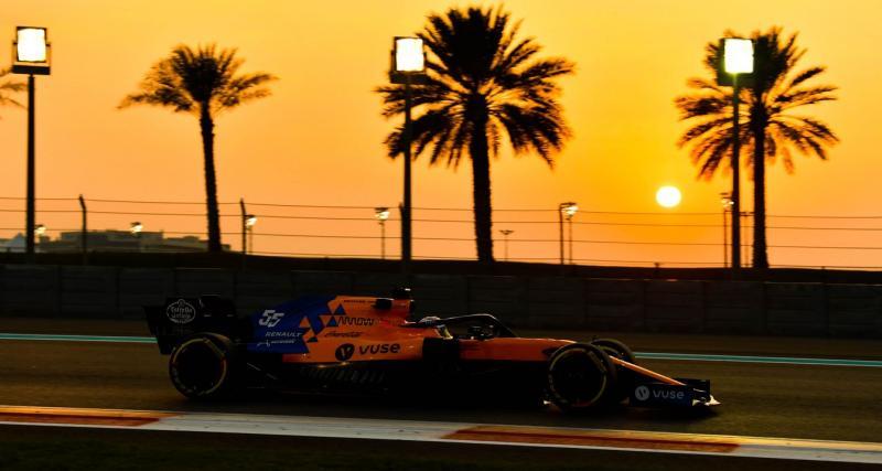 L'annonce officielle sur le compte Twitter de McLaren