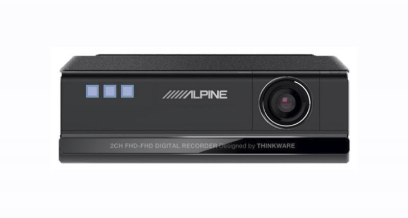 Au CES 2020, Alpine-Electronics présentait des nouvelles dash cam