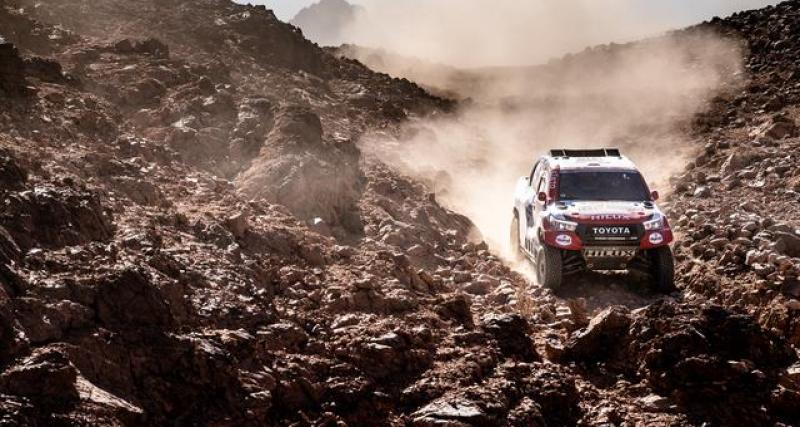 Dakar 2020 - Auto : Alonso victime d'un double tonneau