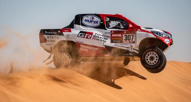 Dakar 2020 : course neutralisée pour le plus grand bonheur de Sainz